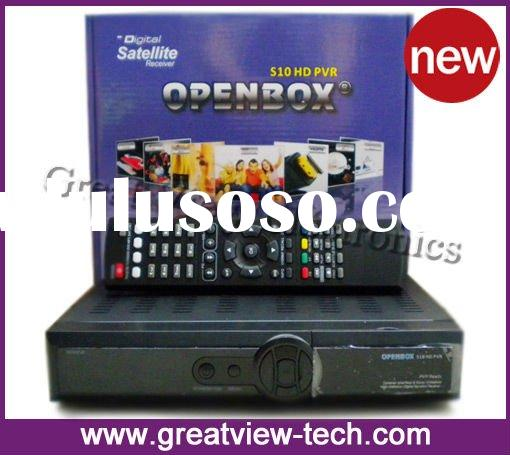 2011 New Arrival HD satellite receiver Openbox S10 box HD receiver