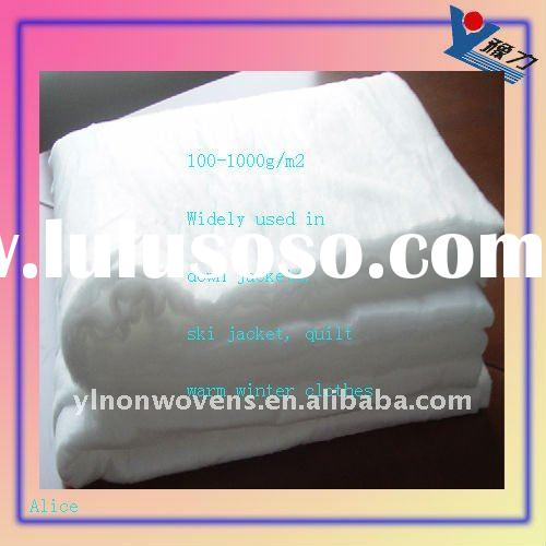 2011 New Thermal-bonded nonwoven down pad for quilt and garment
