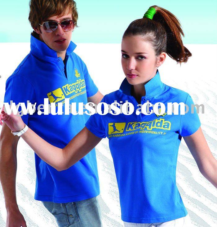 2011 Newest Design Fashion sportswear Tshirts Plain Printing In Guangzhou