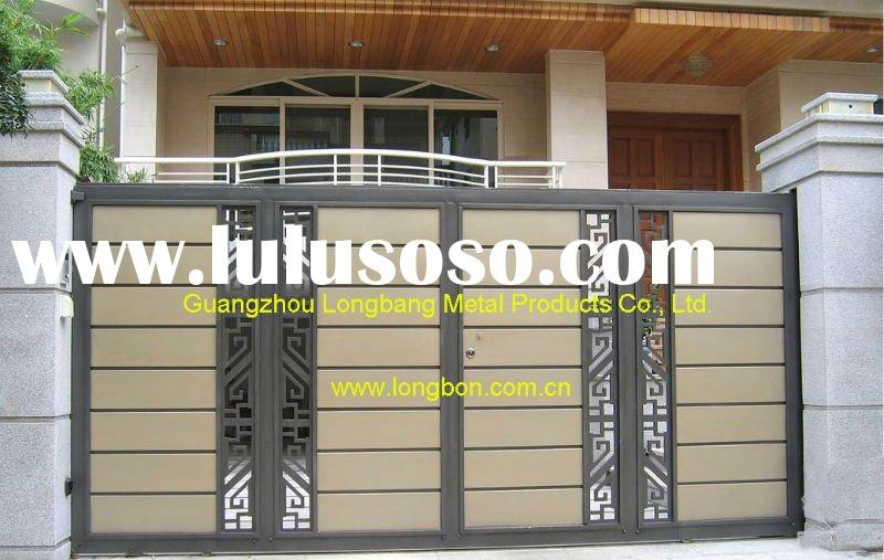 2011 Top-selling hand forged steel gate sliding design for garden,park,home(I-G-0002)