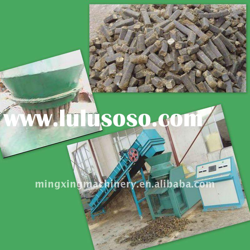 2011 hot selling Wood pellets and briquettes machine with 22kw power