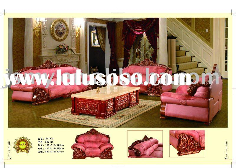 2011 modern furniture Leather sofa set 2118