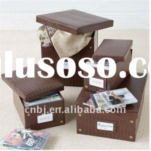 2011 new design christmas storage box