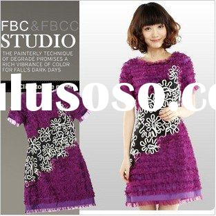 2011 new design summer collection women clothes(557)