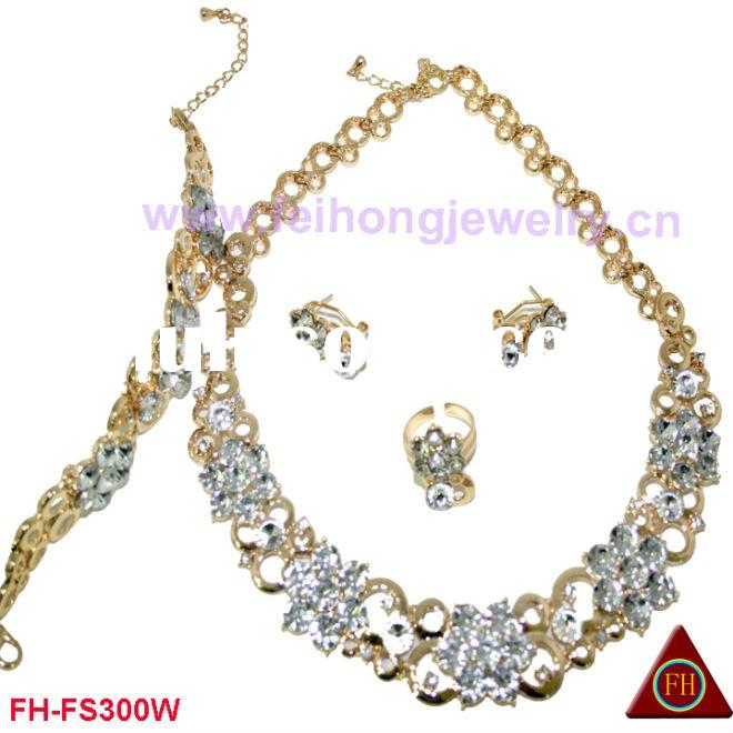 2011 newest costume gold plated/african jewelry/wedding jewelry
