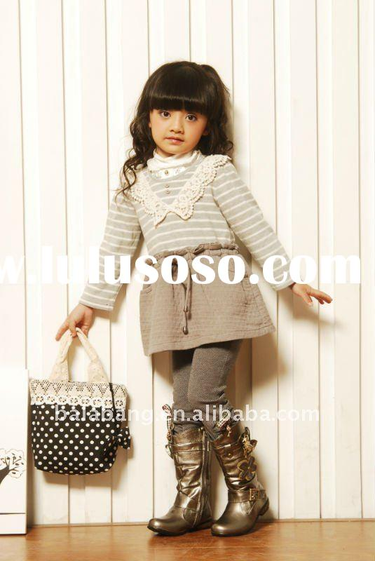 2011 newest kids clothes for winter , fashion kids wear