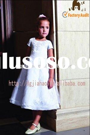 2011 pure white Popular &Elegant girl party dress