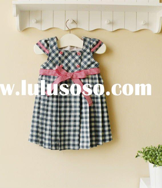 2011 summer mom and bab baby clothes 100% cotton dress new arrival
