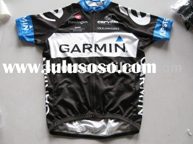 2011 version pro team cycling jersey bib shorts