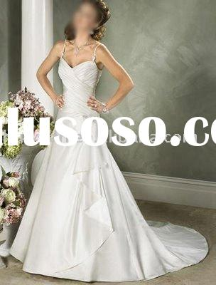 2011 vintage wedding gowns with small train