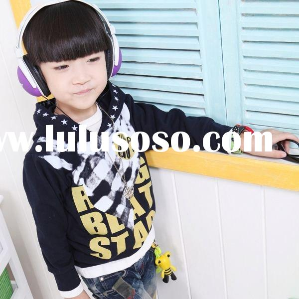 2011new design fashion korea style printing hoodies@sweatshirts clild wear kids cloth