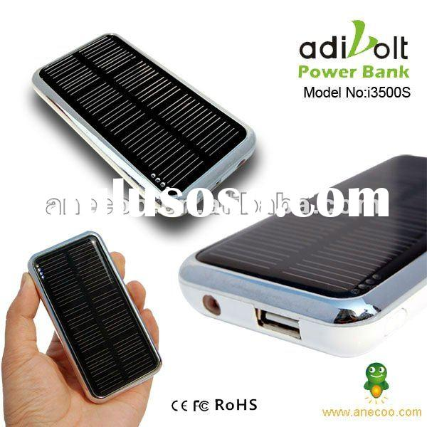 2012 New External Portable Battery Solar Mobilephone Charger