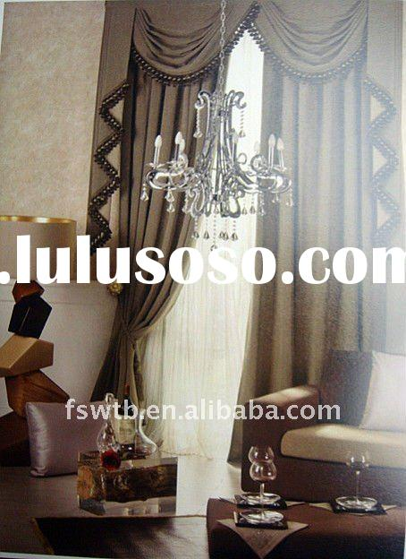2012 New design hot sell modern fashion curtain,welcome to pick out and buy!