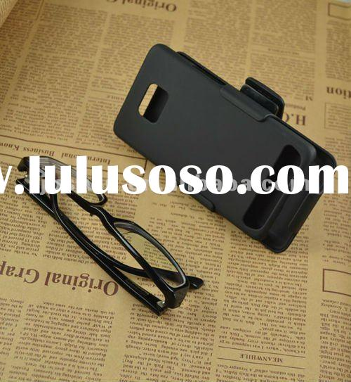 2012 Rubberized Plastic hard Holster Belt Clip Case for Samsung Galaxy S2 i9100