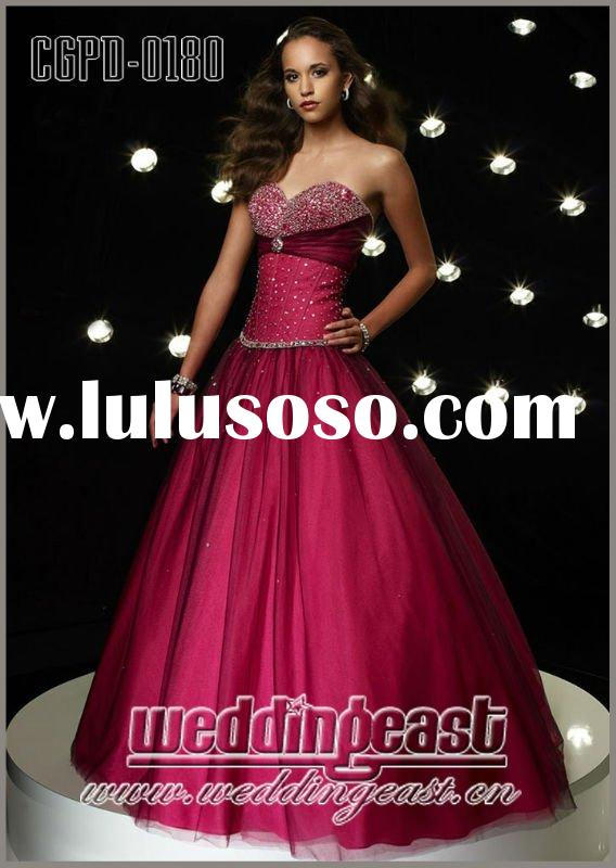 2012 Sweetheart Beaded Popular Prom Dress CGPD-0180,0181,0182