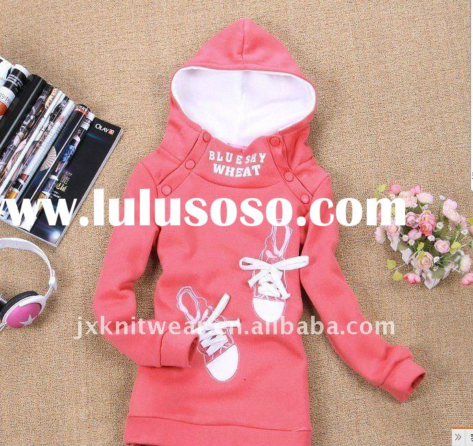 2012 cute hoodies sweatshirt jacket