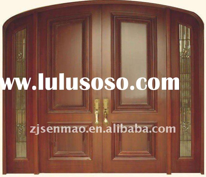 2012 hot sale Wood entry door with CE by factory