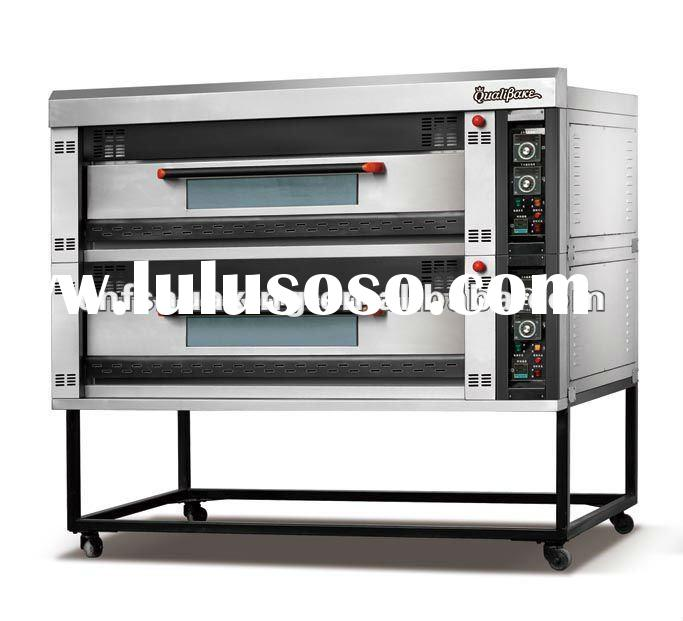 2012 latest auto electric bread baking oven,deck oven,baking machinery (QD-08D)