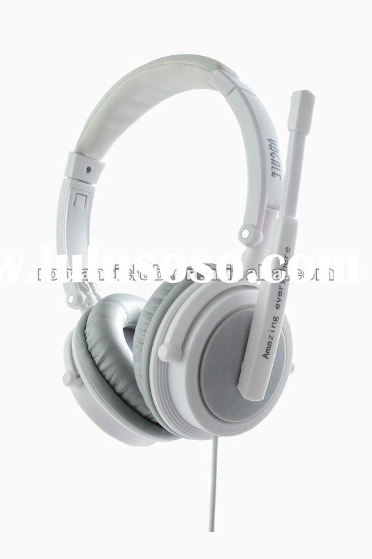 2012 new colorful stereo headset with microphone