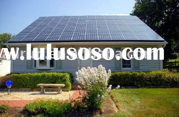 2012 new design high efficiency solar system for home using