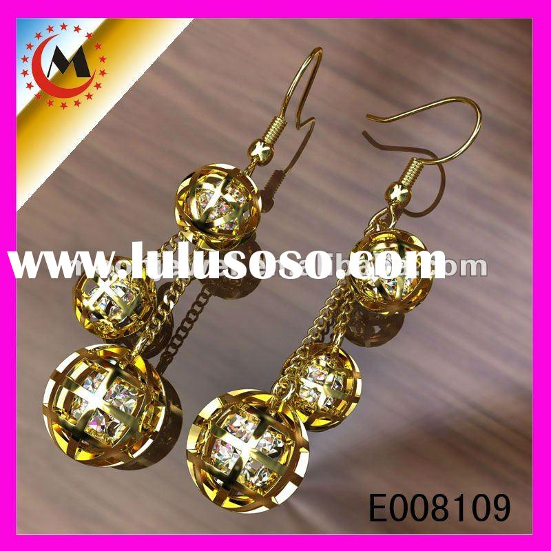 2012 newest design earring jewlery,alloy jewelry