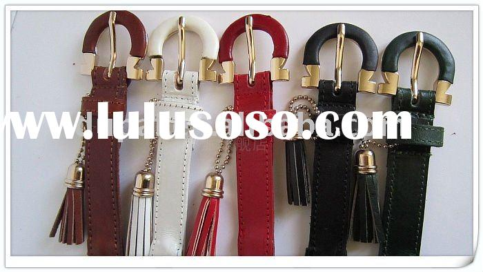 2012 women knitted braided fashion leather belt