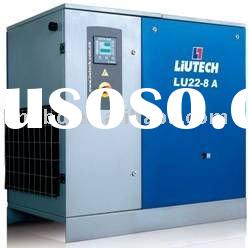 22kW oil injected screw air compressor (Air cooled type) with genuine parts from Atlas Copco