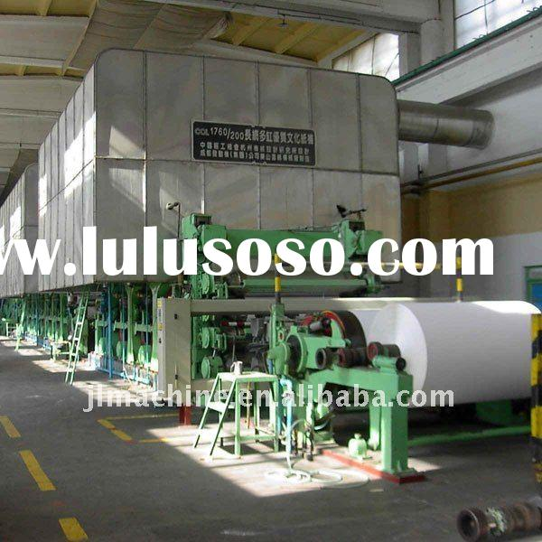 2400 type 15tons cultural paper machine