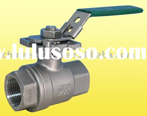 2PCBall Valve With ISO-direct Mounting Pad/locking device