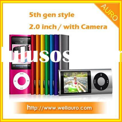2.0 inch mp4 player with Touch Wheel and Camera