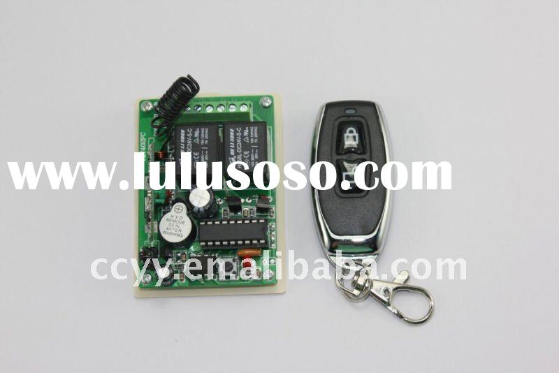 2 CH 315MHz DC 12V RF Wireless Remote Control Controller/ Relay Switch/ Transmitter and Receiver