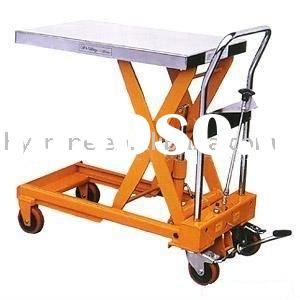 316 Stainless Steel Hydraulic Scissor Lift Tables / Pallet Jack