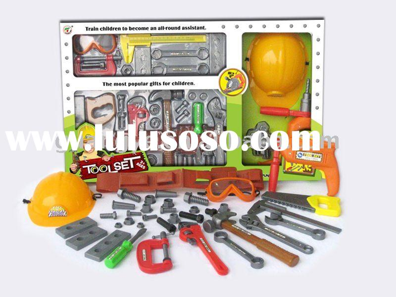 34 pcs plastic hand tool toy for educational toys