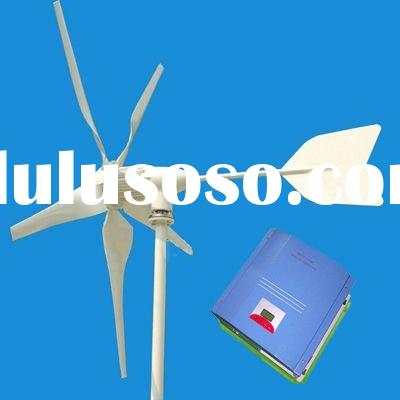 3KW wind turbine permanent magnet generator with controller on grid or off grid