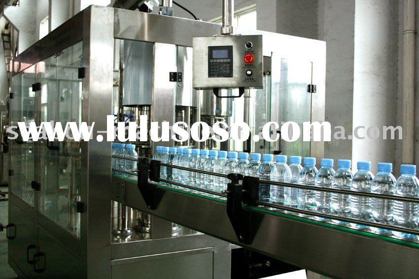 3-In-1 mineral water bottle filling machine