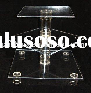 3-Tier Acrylic Square Cupcake Stand JCD-026