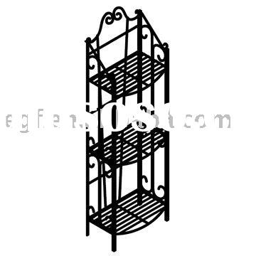 3 Tier Decorative Metal Flower Pot Display Stand
