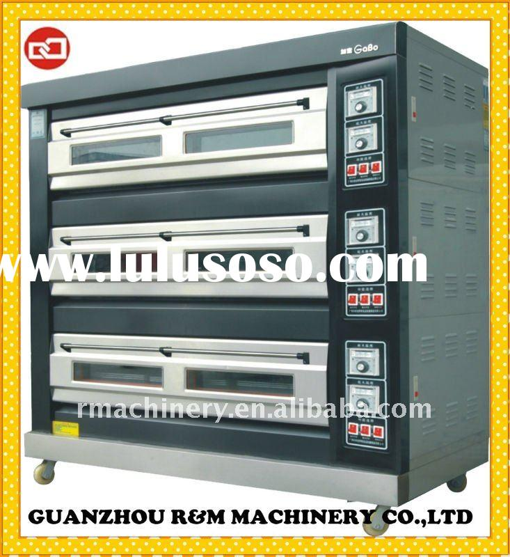 3 layers baking gas oven