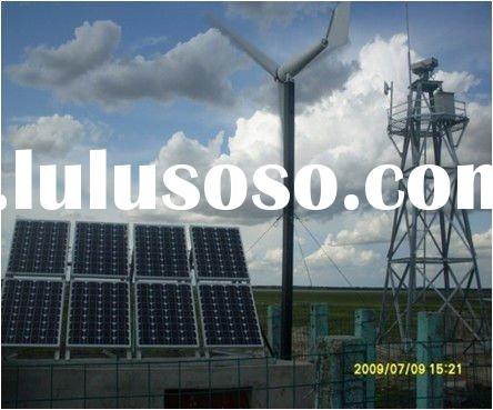 3kw wind solar energy systems for home