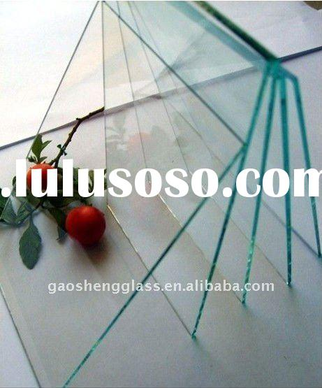 3mm -19mm tempered glass