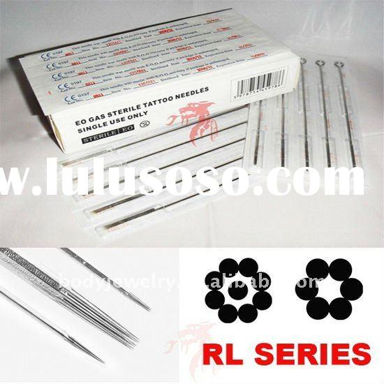50 Pack Pre-made Sterile Tattoo Needles On Bar 50pcs/box