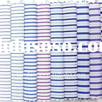 50 cotton 50 polyester yarn dyed fashion stock fabrics
