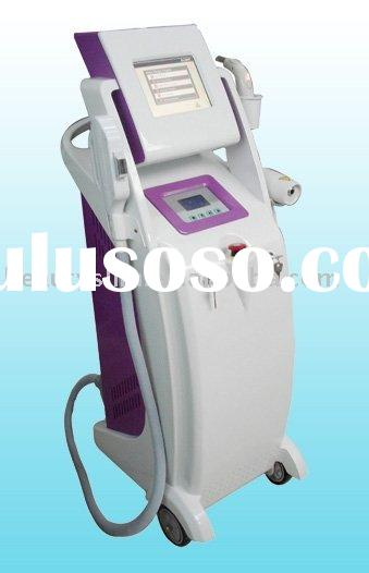 5 in 1 E light +IPL + Laser + Skin whitening beauty machine