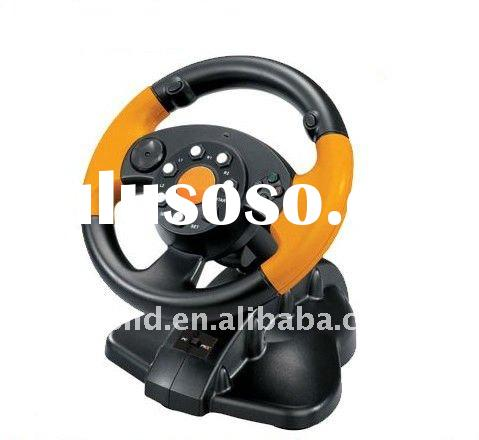 5 in 1 steering racing wheel for ps3 ps2 pc gamecube xbox