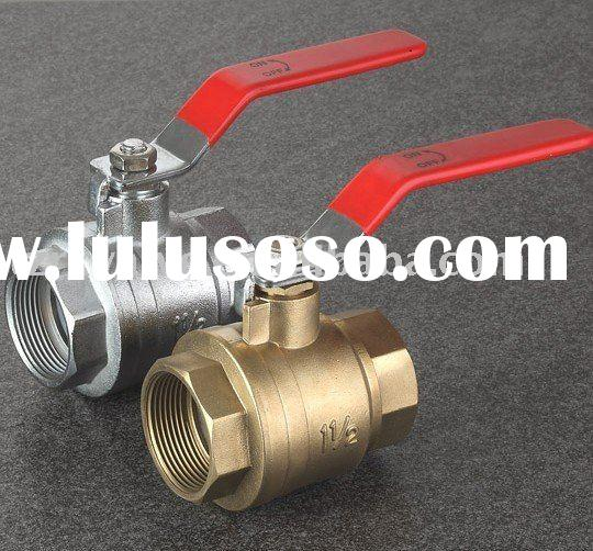 600WOG Full Bore Lead Free Brass Ball Valve
