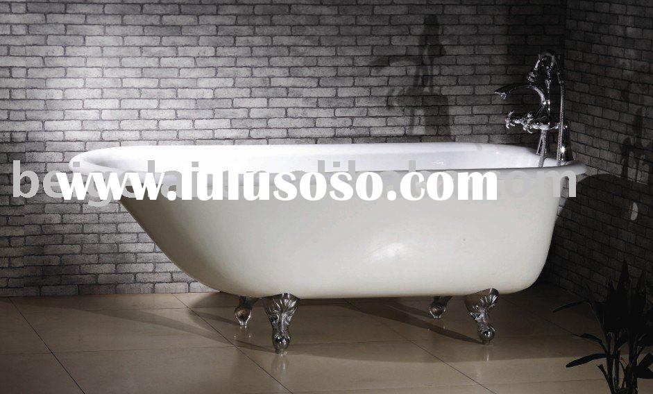 """61"""" Rolled Top classic clawfoot tub"""