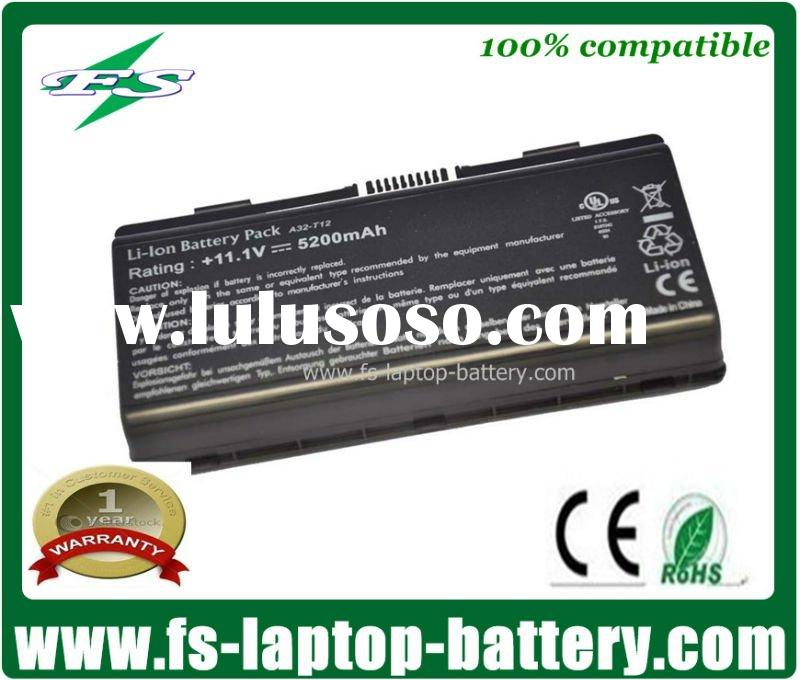 6cells 5200mah A32-T12 Replacement Notebook Battery for Asus T12,MX35 Series