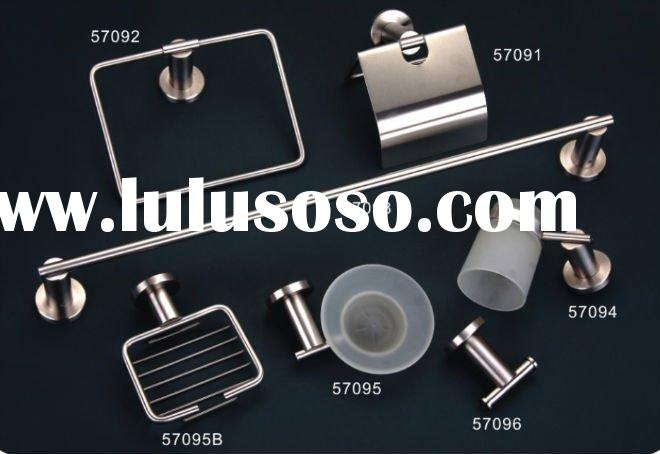 6pcs stainless steel bathroom accessory 57090-CR