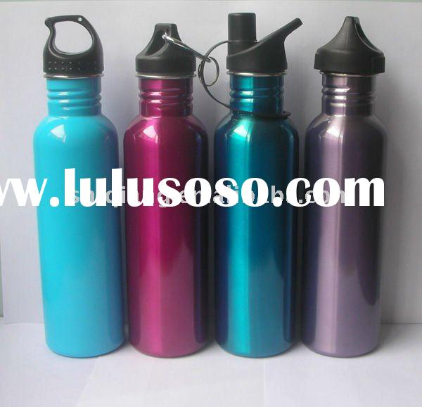 750ml s/s Water Bottle with Non-toxic Spray-printing and Leakproof BL-6040