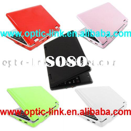 7 inch mini laptop 2G HDD 256M memory with WIFI & WLAN FACTORY DIRECTLY